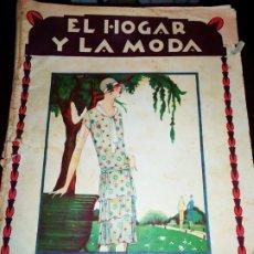 Revistas: REVISTA MODA EL HOGAR Y LA MODA ANTIGUA VINTAGE MAYO 1925. Lote 173822080