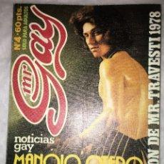 Revistas: REVISTA MR. GAY Nº 4 - 1979 - EROTICA GAY. Lote 173861574