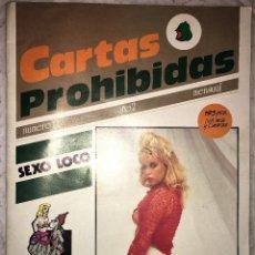 Revistas: REVISTACARTAS PROHIBIDAS Nº 11 - 1989 - EROTICA - PEDIDOS MINIMO 5€. Lote 174008462