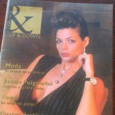 Revistas: REVISTA UP & DOWN DICIEMBRE 2002 NÚMERO 13 LA GRAN NOCHE BARCELONA PORTADA PAULA DOLCET. Lote 174493927