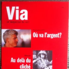Revistas: VIA LE MAGAZINE DU RAIL - 1/93. REVISTA FRANCESA (EN FRANCÉS) 1993.. Lote 176278739