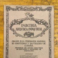 Revistas: DULCERÍA ARTÍSTICA E INDUSTRIAL, REVISTA 1926. Lote 176371357