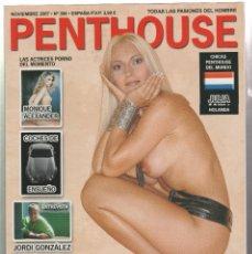 Revistas: PENTHOUSE- NOVIEMBRE 2007-NUMERO 356. Lote 182641102
