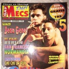 Revistas: REVISTA GAY DEFI MECS Nº 5 - NOVIEMBRE 1994 - EROTICA GAY HOMBRES DESNUDOS MASCULINOS. Lote 176705352