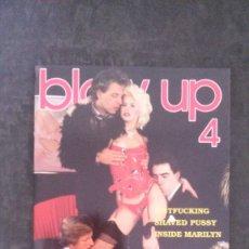 Revistas: BLOW UP Nº 4-REVISTA PORNO DANESA-AÑOS 80-LOIS AYRES. Lote 206862920