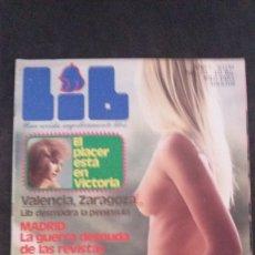 Revistas: LIB 372-VICTORIA VERA-PATXI ANDION-JAMIE GILLIS-DOROTHY LEMAY-ZARAGOZA. Lote 178023809