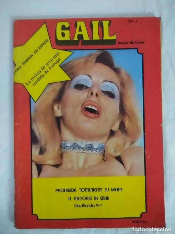 REVISTA EROTICA/GAIL Nº1. (Coleccionismo para Adultos - Revistas)