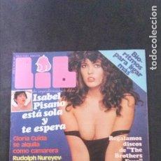 Revistas: LIB- SUSANA ESTRADA-ISABEL PISANO-GLORIA GUIDA-RUDOLF NUREYEV-BARBRA STREISAND-MARIA SALERNO. Lote 180480153