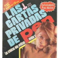 Revistas: LAS CARTAS PRIVADAS DE PEN. Nº 235. NUEVA ÉPOCA. EUROS. REVISTA PARA MAYORES.(P/B78). Lote 180857145