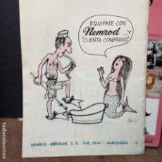 Revistas: CRIS REVISTA DE LA MAR .N.114 .JULIO DE 1968 CON ANUNCIO DE CESC VER FOTO. Lote 181029518