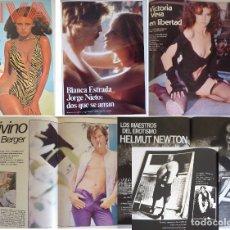 Revistas: REVISTA VIVA NÚM. 1 (1977) BLANCA ESTRADA, JORGE NIETO, HELMUT BERGER, HELMUT NEWTON, VICTORIA VERA. Lote 181039323