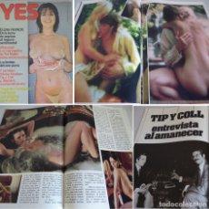 Revistas: YES 8 -2ª ÉPOCA (1977) ELENA FRANCIS-PAT MALLET-VIBEKE KNUDSEN-TIP Y COLL-BÁRBARA. Lote 181070598