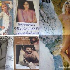 Revistas: YES 9 -2ª ÉPOCA (1977) DAYLE HADDON ES 'MADAME CLAUDE'-SAPHO-LAS ENAMORADAS DE SÍ MISMAS-PÓSTER: LÍA. Lote 181070738