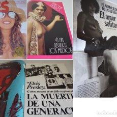 Revistas: YES 10 -2ª ÉPOCA (1977) JUTTA-ELVIS PRESLEY-EL MUNDO DE LAS LESBIANAS-PALOMA PICASSO-BRENDA. Lote 181070856