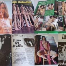 Revistas: YES 14 -2ª ÉPOCA (1977) DAYLE HADDON-OH CALCUTTA-LOS OBJETOS ERÓTICOS-EL MITO GAY DE CÁDIZ-HAZEL. Lote 181070991