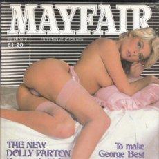 Revistas: REVISTA MAYFAIR VOLUMEN 20 Nº 3. (EROTICO). THE NEW DOLLY PARTON GERMANY´S 40-IN FILM STAR.. Lote 182640788