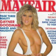 Revistas: REVISTA MAYFAIR VOLUMEN 26 Nº 8. (EROTICO). GAYNER GOODMAN. EMMA RIDLEY. NUDE AND RUDE.. Lote 182642851