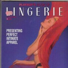 Revistas: REVISTA PLAYBOY´S LINGERIE Nº 11 AÑO 1992. (EROTICA). PRESENTING PERFECT INTIMATE APPAREL.. Lote 182703895