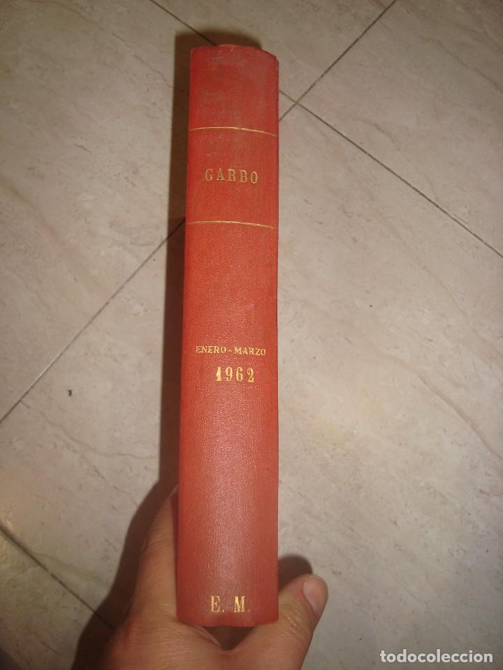 TOMO DE REVISTAS ENCUADERNADAS GARBO , AÑO 1962 ENERO-MARZO (Coleccionismo para Adultos - Revistas)