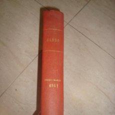 Revistas: TOMO DE REVISTAS ENCUADERNADAS GARBO , AÑO 1962 ENERO-MARZO. Lote 183578810