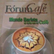Revistas: CONJUNTO DE 10 REVISTAS FORUM CULTURAL DEL CAFÉ. Lote 184050523