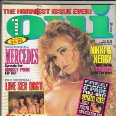 Revistas: REVISTA OUI VOLUMEN 24 Nº 6. (EROTICA). MERCEDES. VIBRATOR ORGASMS. NIKKI & KERRY.. Lote 184056730