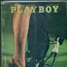 Revistas: REVISTA EROTICA PLAYBOY PLAY BOY CON SU POSTER CENTRAL AMERICANO MAYO1965. Lote 188843000