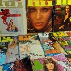 Revistas: REVISTAS PARA ADULTOS -13 EJEMPLARES-. Lote 191199413