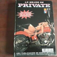 Revistas: REVISTA THE BEST OF PRIVATE VOLUMEN V. Lote 191275505