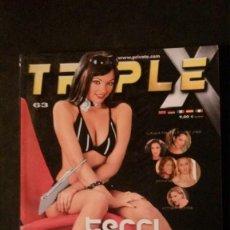 Revistas: PRIVATE TRIPLE X Nº 63-REVISTA PORNO. Lote 191740241