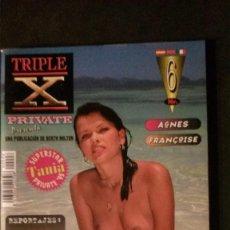 Revistas: PRIVATE TRIPLE X Nº 6-REVISTA PORNO-TANIA RUSSOF. Lote 191741293