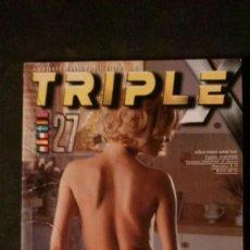 Revistas: PRIVATE TRIPLE X Nº 27-REVISTA PORNO. Lote 191742687