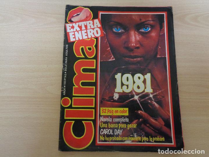 REVISTA CLIMA EXTRA ENERO 1981. CAROL DAY. BUEN ESTADO (Coleccionismo para Adultos - Revistas)