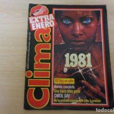 Revistas: REVISTA CLIMA EXTRA ENERO 1981. CAROL DAY. BUEN ESTADO. Lote 193020745