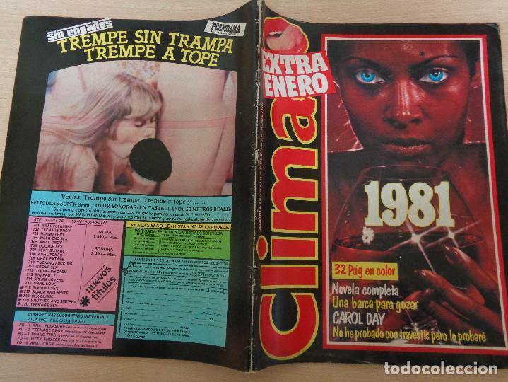 Revistas: Revista Clima Extra Enero 1981. Carol Day. Buen estado - Foto 2 - 193020745