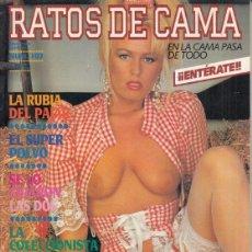 Revistas: REVISTA RATOS DE CAMA.PORNO. LA RUBIA DEL PAJAS. EN LA CAMA PASA DE TODO. ESTUDIANDO ANATOMIA.. Lote 193574918