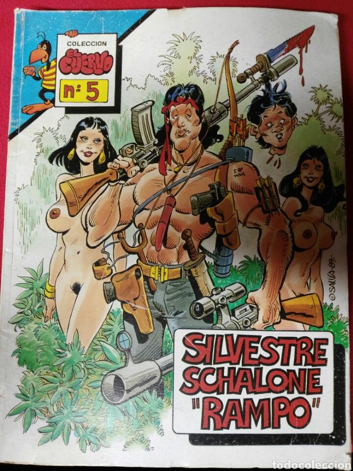 COLECCION EL CUERVO N.5 (Coleccionismo para Adultos - Revistas)