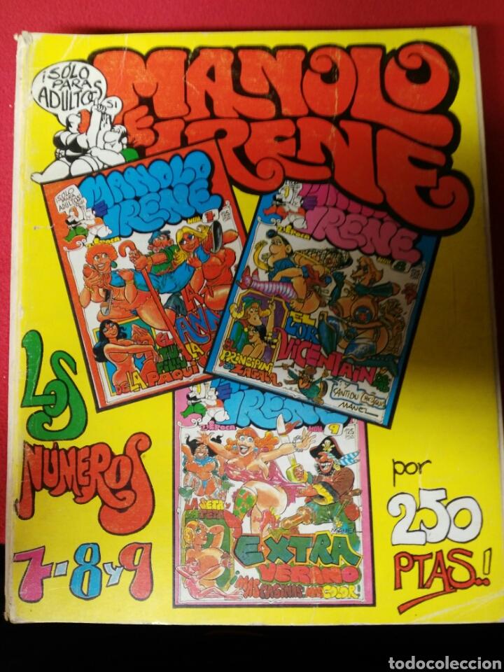 MANOLO IRENE 2 EPOCA NUMEROS 7.8 Y 9 (Coleccionismo para Adultos - Revistas)