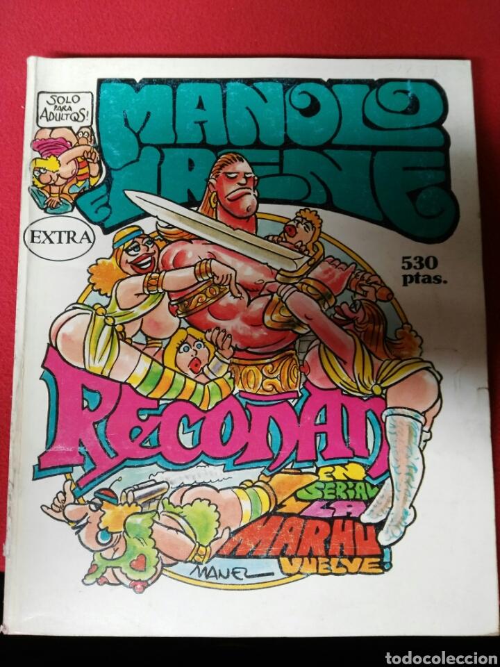 MANOLO IRENE NUMEROS 52 AL 56 (Coleccionismo para Adultos - Revistas)