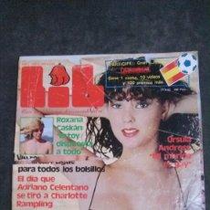 Revistas: LIB-ROXANA CASKAN-URSULA ANDRESS-MUNDIAL 82-SADOMASOQUISMO-AGATA LYS-ADRIANO CELENTANO-VALENCIA. Lote 195538656