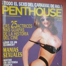 Revistas: PENTHOUSE REVISTA Nº 215 FEBRERO 1996 LAS 25 ACTRICES MAS GUAPAS DE LA HISTORIA DEL CINE . Lote 195907955