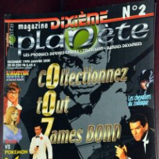 Revistas: JAMES BOND COLLECTIBLES FRANCE MAGAZINE BUFFY POKEMON BATMAN. Lote 198495917