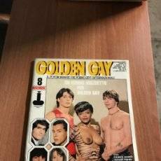 Revistas: GOLDEN GAY N.8 INTERNATIONAL PRESS NOVEMBER 1981 PHOTOROMAN EROTIC MAGAZINE. Lote 231789585