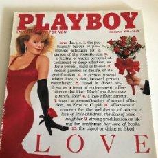 Revistas: REVISTA PLAYBOY ORIGINAL AMERICANA FEBRERO 1989. Lote 199975491