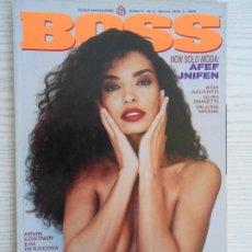 Revistas: BOSS NO.3 MARZO 1998. Lote 203454036