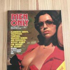 Riviste: MEN ONLY VOL.42 NO.10 - A PAUL RAYMOND PUBLICATION. Lote 203963572