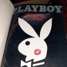 Revistas: REVISTA PLAYBOY Nº1,Nº2,Nº3 Y Nº4 EN UN TOMO.1978,LAS PRIMERAS PUBLICADAS EN ESPAÑOL.. Lote 204208218