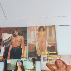 Revistas: LOTE ANTIGUAS REVISTAS ERÓTICAS SEXO ADULTOS. Lote 204824950