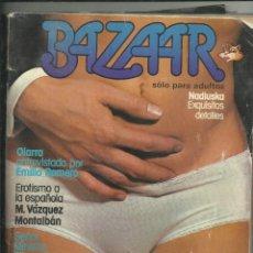 Revistas: BAZAAR. SOLO PARA ADULTOS. Lote 205119935