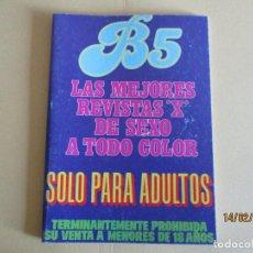 Revistas: REVISTA PARA ADULTOS B5. Lote 205294758